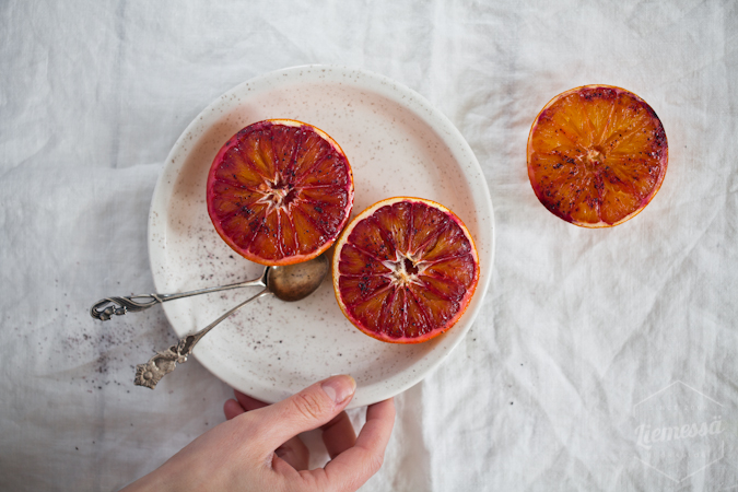 veriappelsiinit uunissa resepti ohje