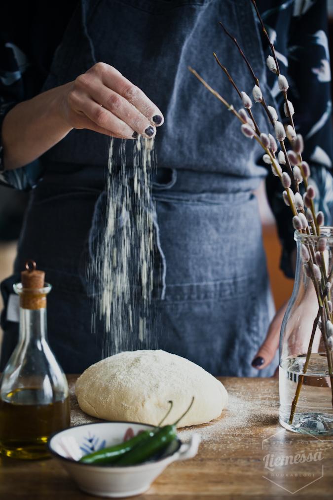 flatbread resepti