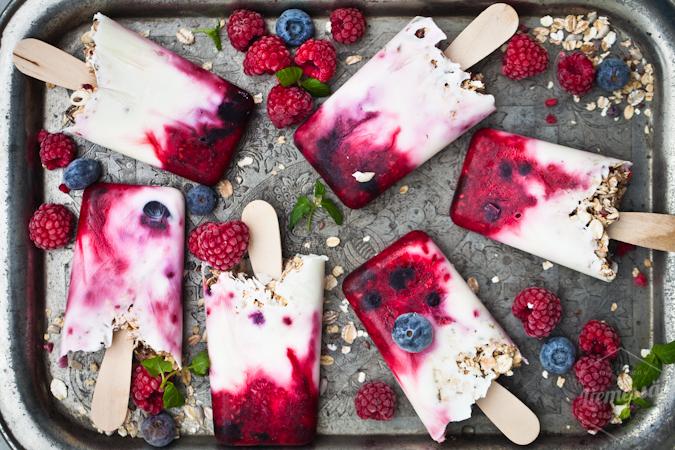 jogurtti jäätelö resepti