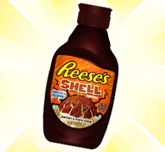 REESE'S SHELL – FREEZES IN SECONDS!