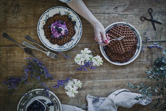 suklaavohvelit
