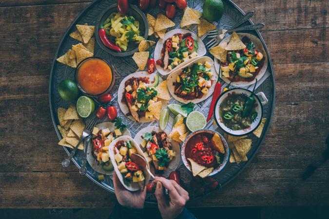Taco I Meksikolainen I Kanataco I Kanafajitas I Illanistujaiset I Pikkujoulut I Resepti I Tarjottavaa illanistujaisiin I Ruokakuvaus I Valokuvaus