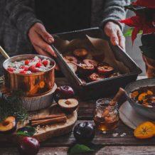 Riisipuuro I Joulupuuro I Resepti I Ohje I Vaniljariisipuuro I Suklaa I Chili I Chai I Puuro I Luumu I Lisuke I Joulu I Christmas porridge I Rice pudding I Food photography