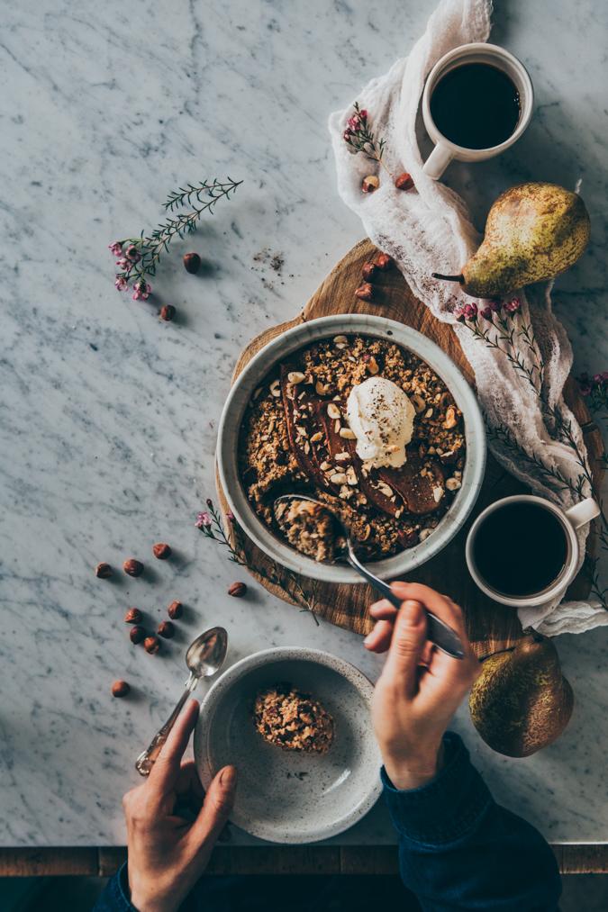 Myslipaistos I Baked granola I Mysli I Terveellinen ruoka I Aamiainen I Aamupala I Brunssi I Resepti I Ohje I Ruokakuvaus I Valokuvaus