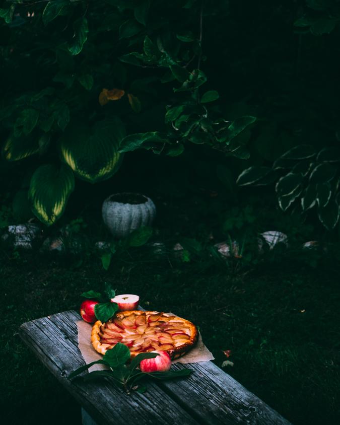 Tarte tatin I Omenapiirakka I Omenapiiras I Omena I Piirakka I Resepti I Ohje I Leivonta I Sesonkiruoka I Syksy I Tarte tatin apple pie I Ruokablogi I Ruokakuvaus I Food photography