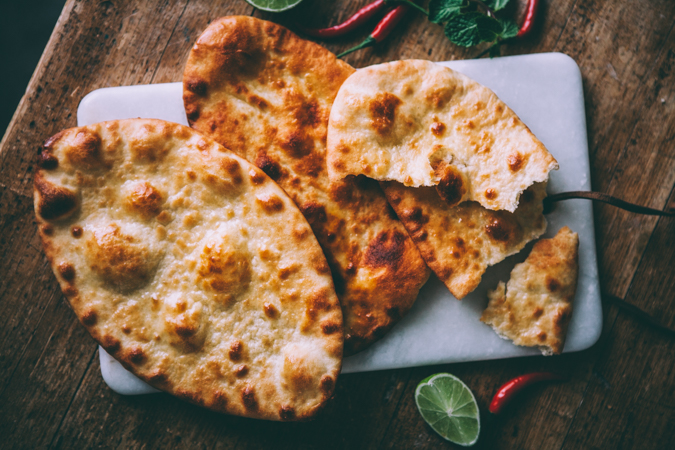 Naanleipä I Resepti I Naan-leipä I Leipä I Leivonta I Intialainen I Itsetehty I Ruoka I Helppo I Ohje I Ruokakuvaus I Ruokablogi I Naan bread I Food photography
