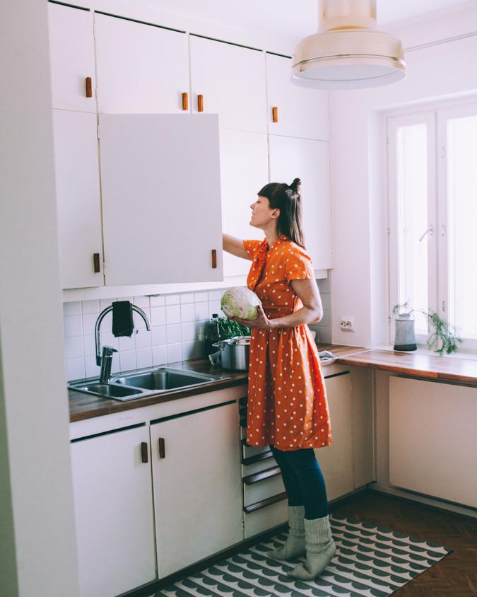 Kasviskaalikääryleet I Kaalikääryleet I Kasvisruoka I Kaali I Keräkaali I Ruoka I Resepti I Ohje I Suomalainen I Paistinpannu I Fiskars Nordic I Nordic food I Ruokakuvaus I Ruokablogi