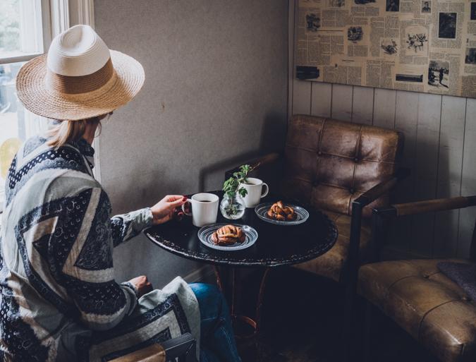 Best cinnamon bun Finland cafe Skorpan