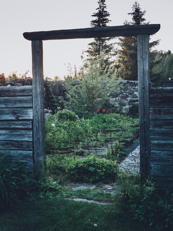 Tertin kartano puutarha