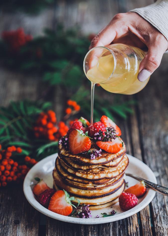 Brunssi I Pannukakut I Pannukakku I Västerbottensost I Resepti I Ohje I Ruokablogi I Pancakes I Food photography