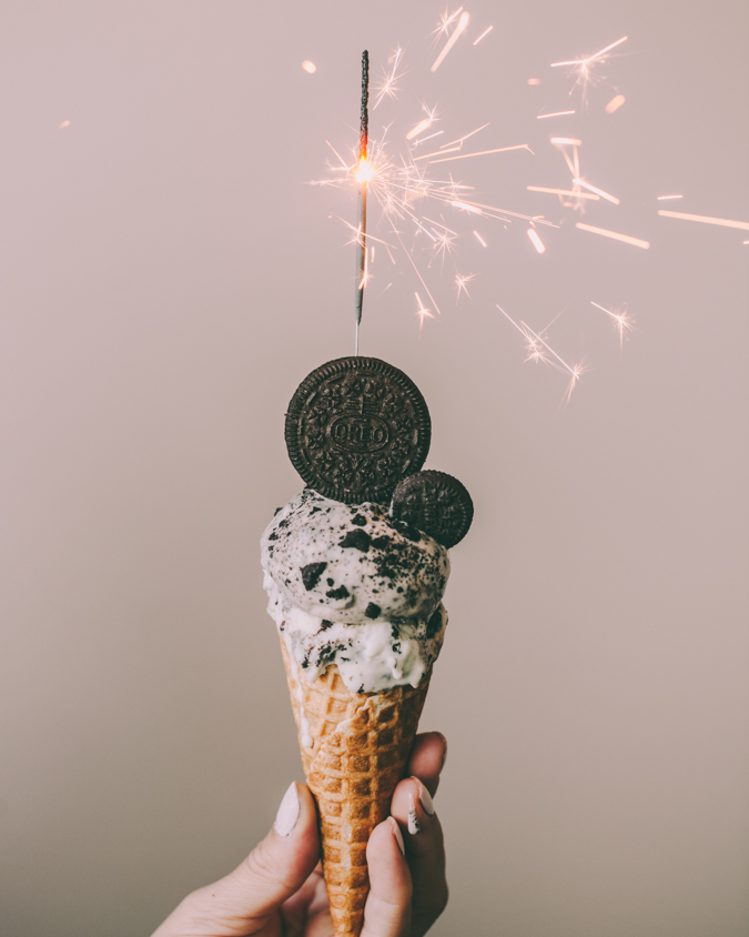 Oreo brownie jäätelö I Itse tehty jäätelö I Jäätelö ilman jäätelökonetta I Suklaa I Keksi I Oreo ice cream