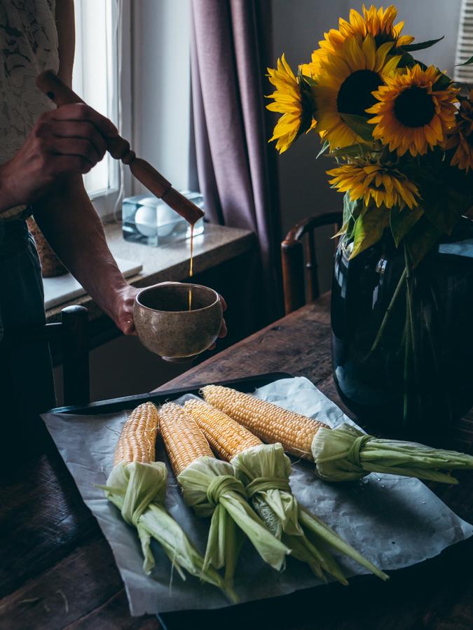 Maissintähkät ras-el-hanout