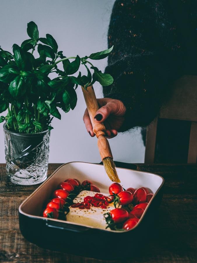 Baked feta pasta blog