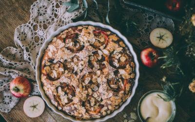 Manteli-omenapiirakka