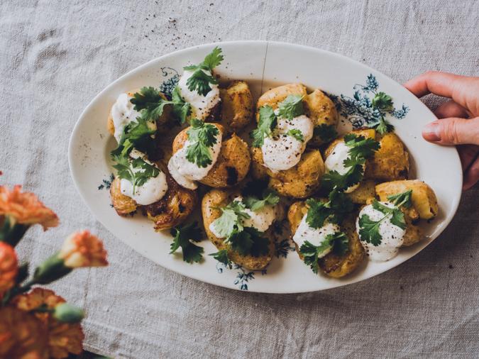 Salt vinegar perunat