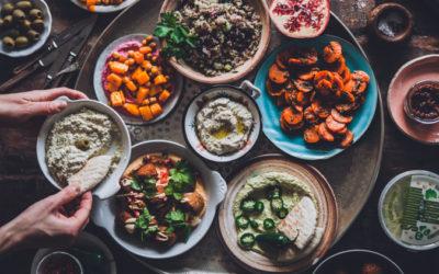 Mezepöytä I Meze I Resepti I Falafel