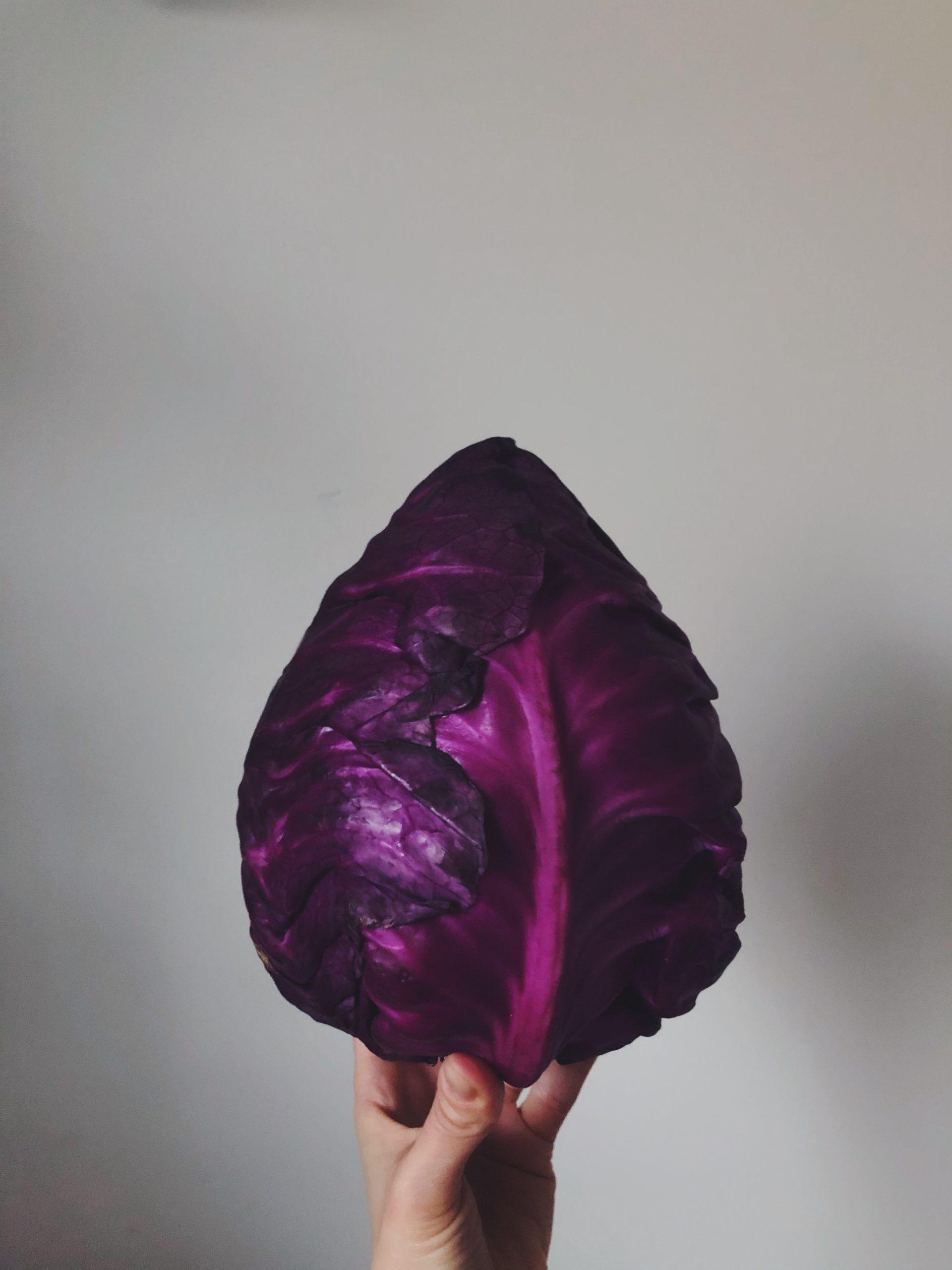 Violetti suippokaali